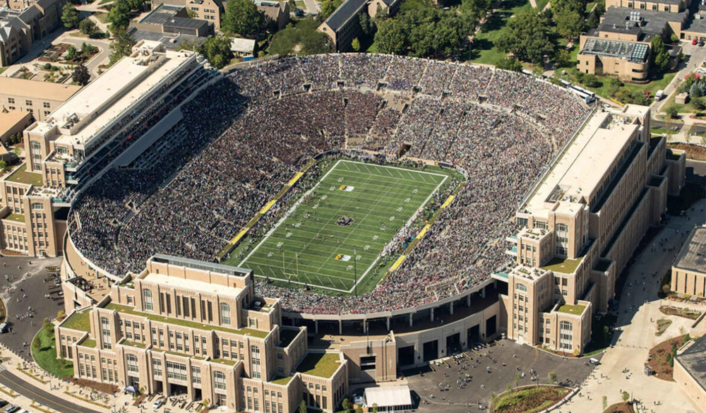 CORTAC Supports Notre Dame Stadium Remodel