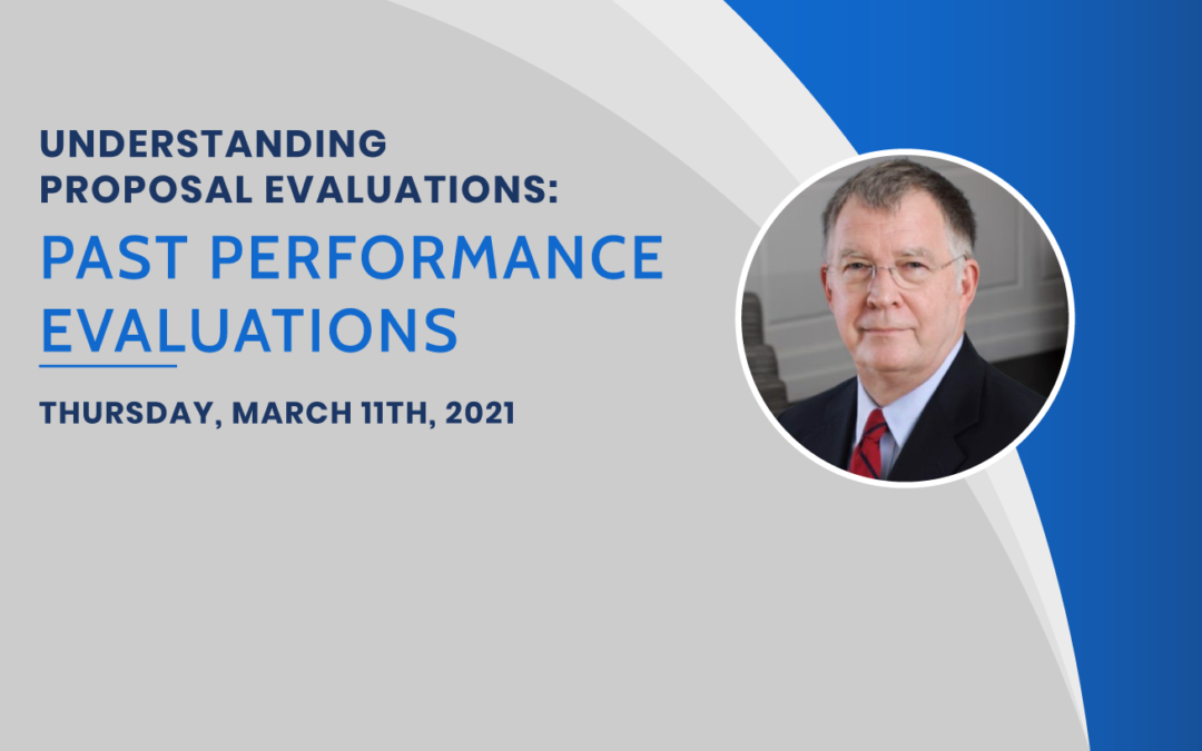 Upcoming Class: Past Performance Evaluations