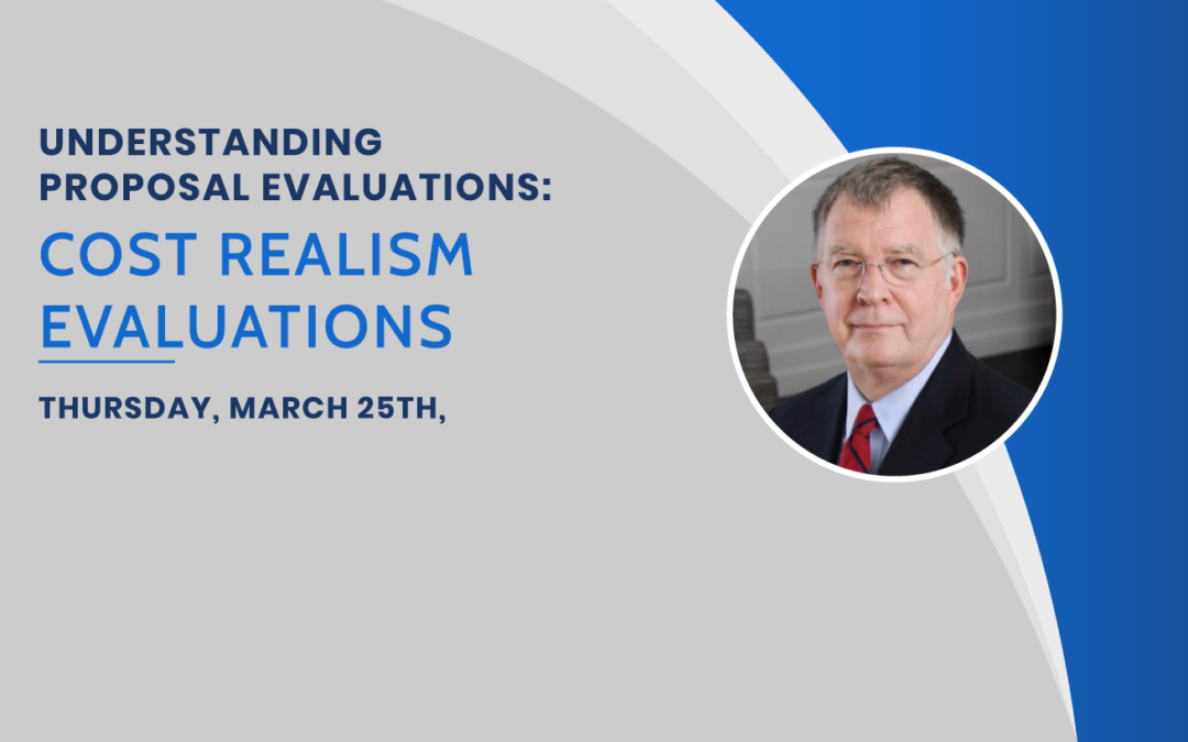 Upcoming Class: Cost Realism Evaluations