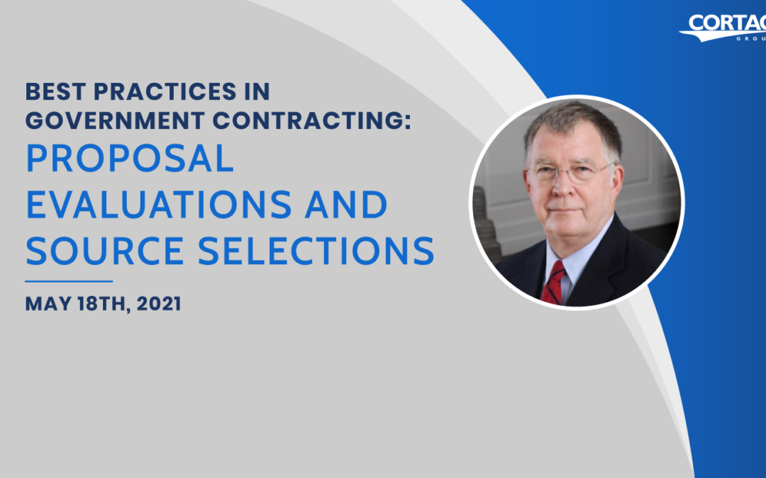 Best Practices in Government Contracting